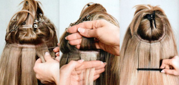 Quick stick skin weft tape hair extensions tre chic pmusecretfo Image collections